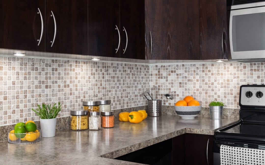 a backsplash is a great addition for a kitchen remodel